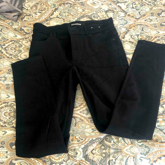 Express black jeans. Sz 6 regular.New without tags